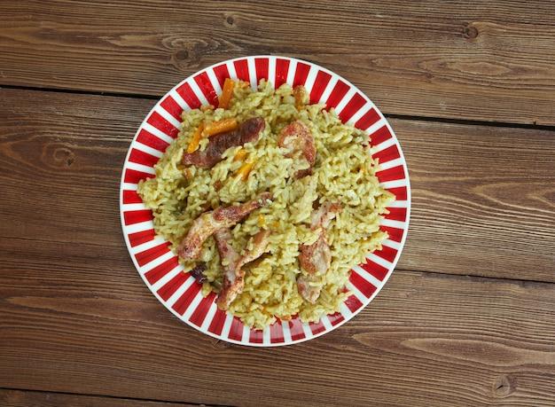 Landi palaw 아프간 음식은 일반적으로 건강합니다.