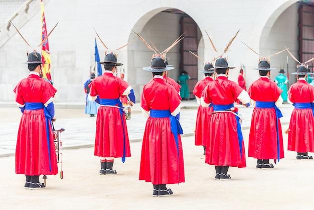 Landmark asian culture tourism korea