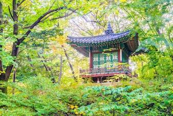 Landmark culture korean secret palace