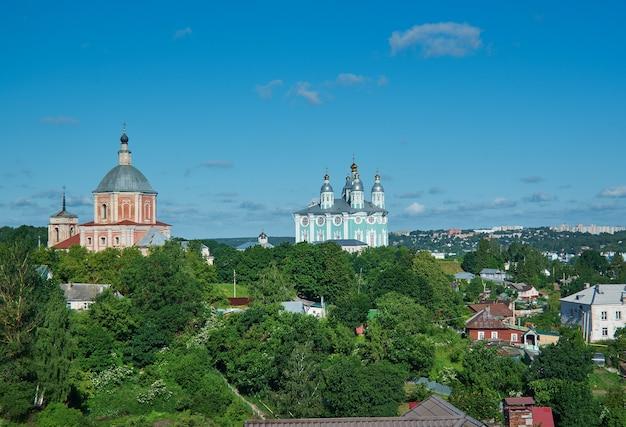Достопримечательность смоленск, россия, город русское золотое кольцо