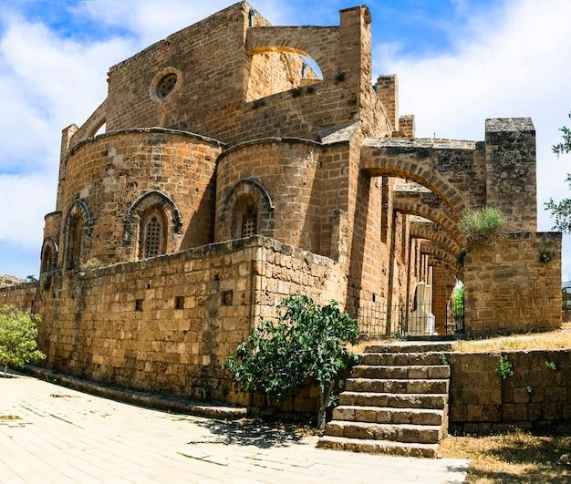 Landmarks of cyprus island ghost town famagusta in northen turkish part