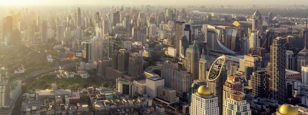 Landscape of bangkok city