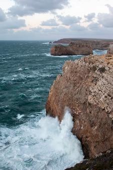Landscape of the coastline of sagres