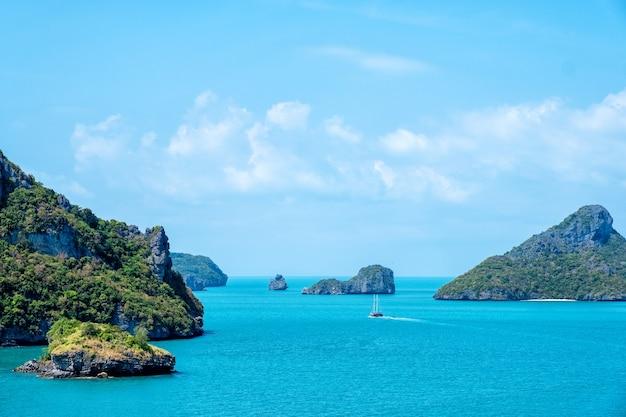 ムーコアントン、サムイ島、スラタニ、タイの風景画像