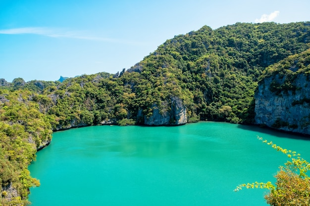 Thale nai、mu koh angthong、samui island、surat thani、タイの風景画像