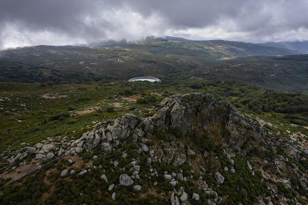 Пейзаж в пена-негра, испания