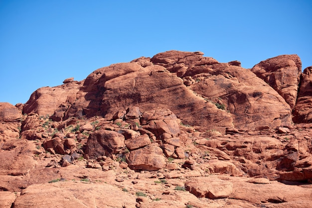 Пейзаж в red rock canyon, штат невада, сша