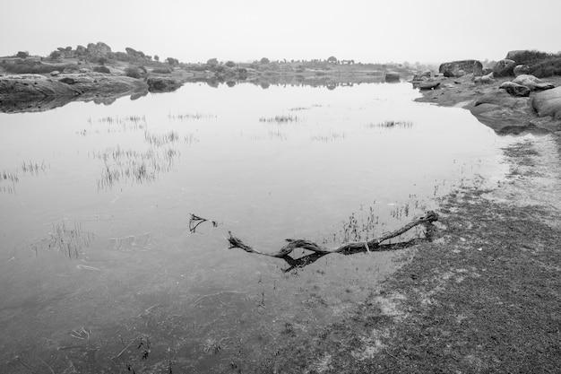 Barruecos 자연 지역의 풍경. extremadura. 스페인.