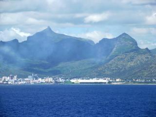 Landscape of mauritius  sky