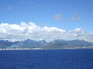Landscape of mauritius