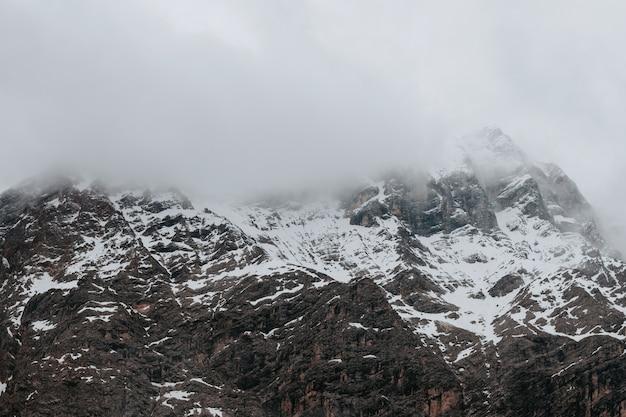 Panorama di picco di montagna