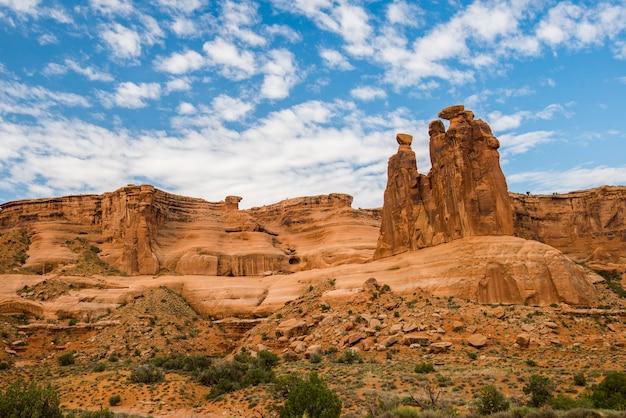 アーチーズ国立公園の風景