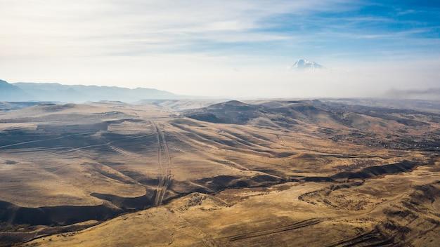 アルメニアの風景/空撮