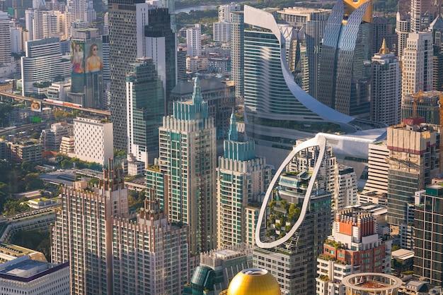 Пейзаж города бангкока