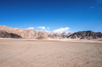 Landscape of mountain nature