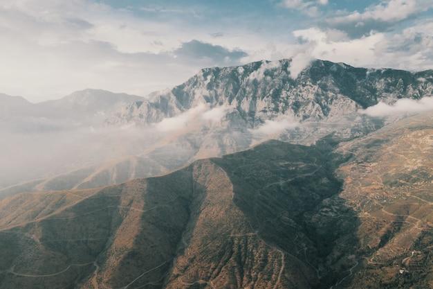 トルコの山の風景