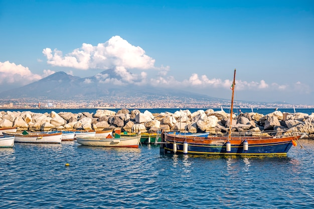 ナポリ、イタリアの風景