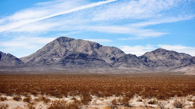 米国ネバダ州の風景