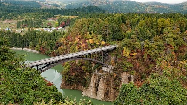 일본 후쿠시마 타다미선 풍경
