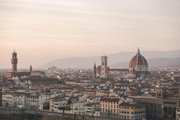 フィレンツェの街の風景