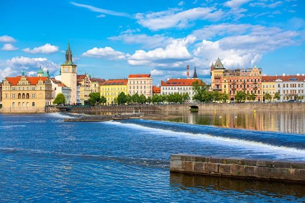 プラハの街の風景