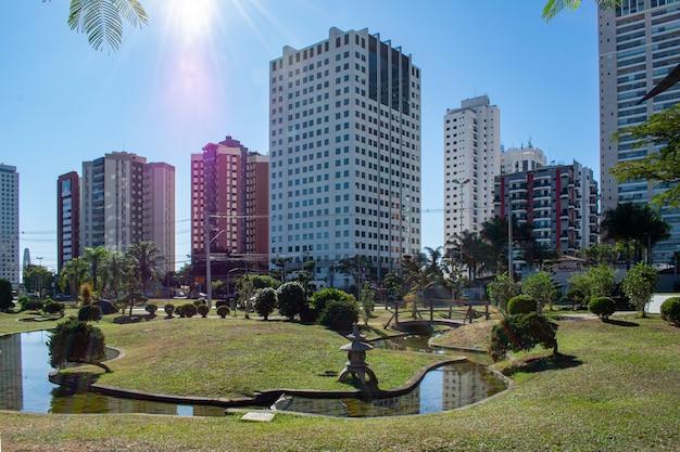 サンジョゼドカンポス日本庭園の風景