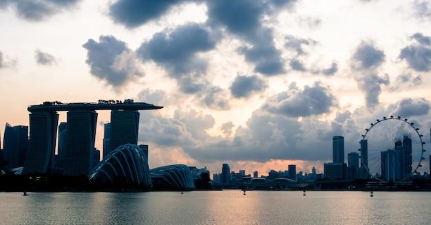 Пейзаж сингапура