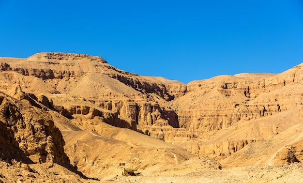 Пейзаж долины царей египта