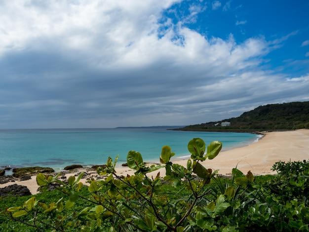 대만 켄팅 샤오완 해변의 풍경