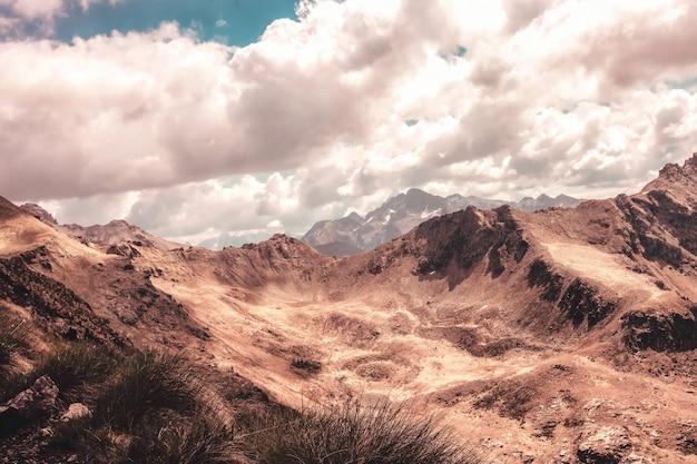 Fotografia di paesaggio di montagna