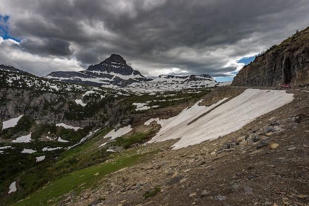 氷河国立公園の風景写真