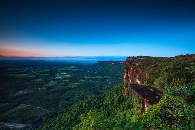 Landscape of phu- lang-ka national park