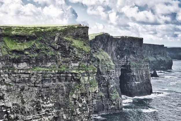 Landscape seascape along the wild atlantic way.