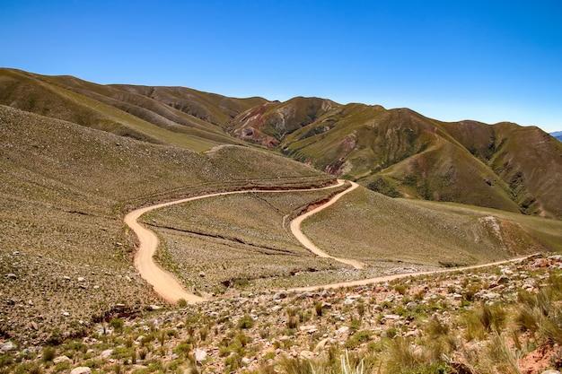 Пейзаж вид жужуй, аргентина