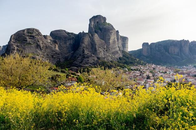 Kalambaka, 그리스의 풍경보기