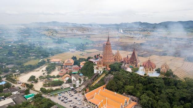 Landscape of wat tham suea