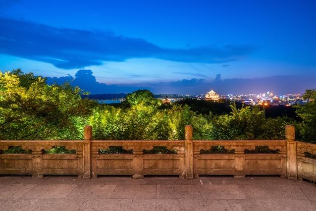 Landscape of west lake in hangzhou