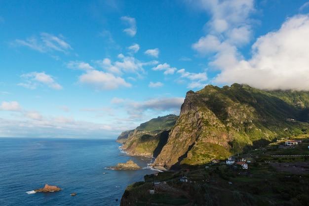 마데이라 섬의 풍경