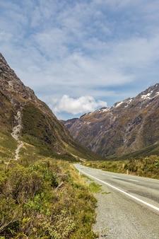 남섬 고속도로의 풍경