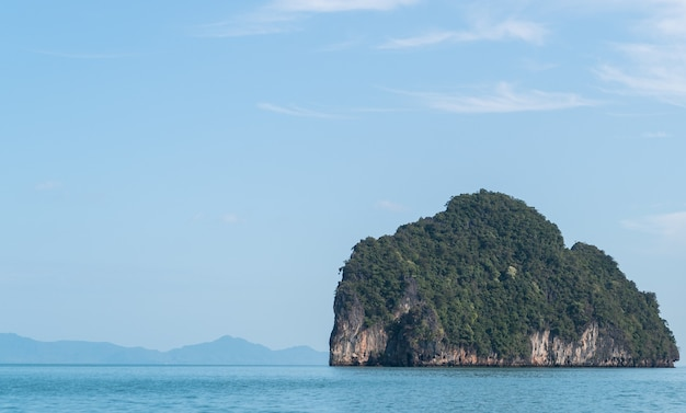 Landscapes of phang nga national park,rock island thailand