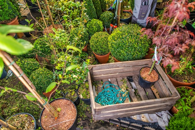Landscaping business storage
