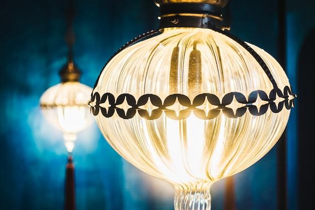 칸델라 등불 화려한 문화 빛