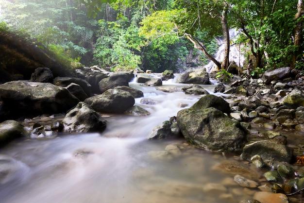 Lapopu waterfall on sumba island, indonesia
