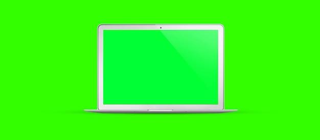 Шаблон пустой экран ноутбука