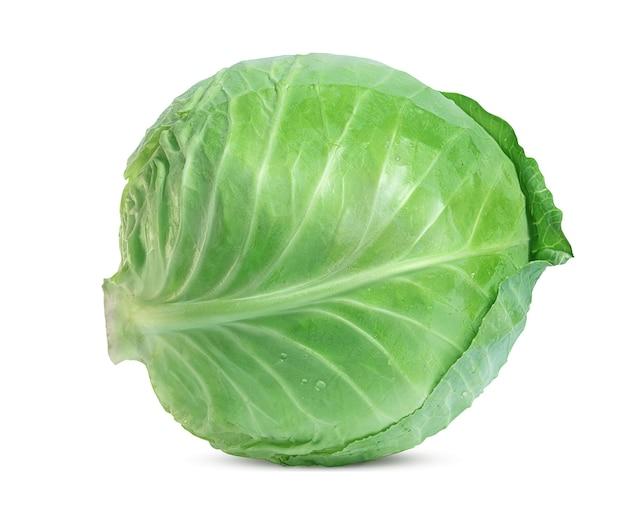Large fresh white cabbage