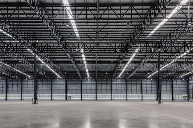 Large modern warehouse