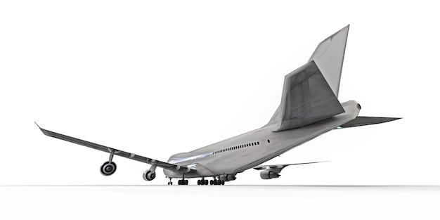 大西洋横断飛行に対応する大容量の大型旅客機