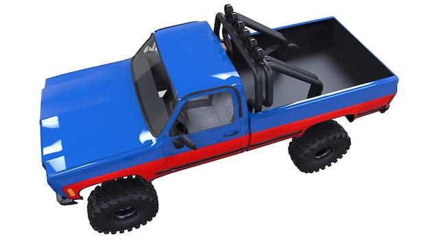 오프로드 대형 픽업 트럭
