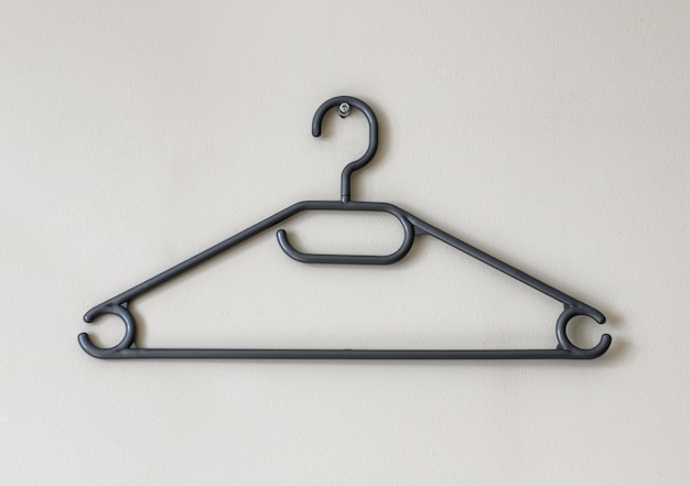 Large plastic detailed clothes rack hanger