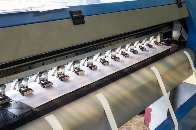 Large printer inkjet and vinyl paper